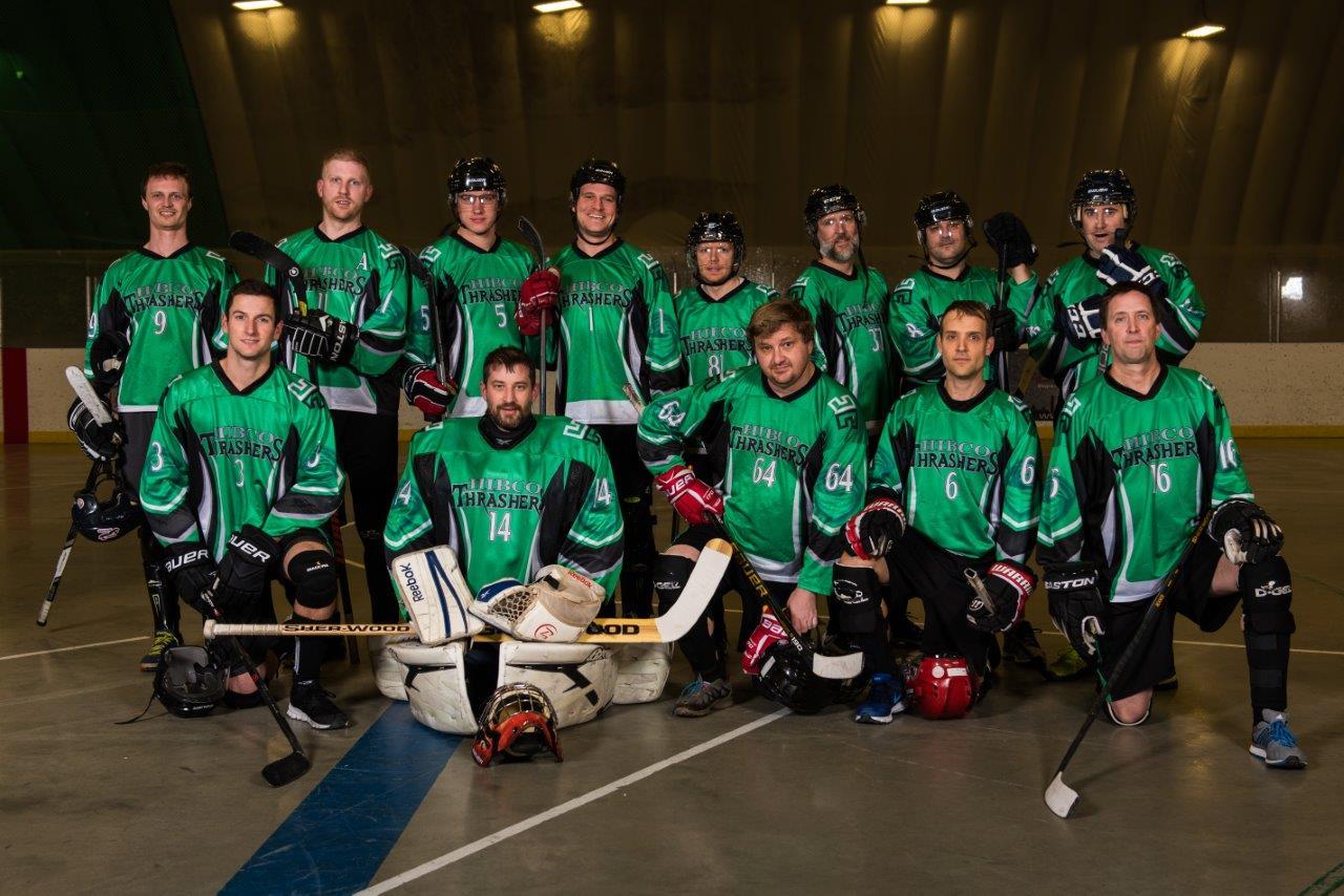HIBCO Construction Ball Hockey Team